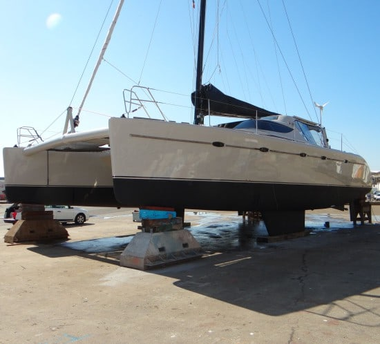 peinture bateau coque polyester