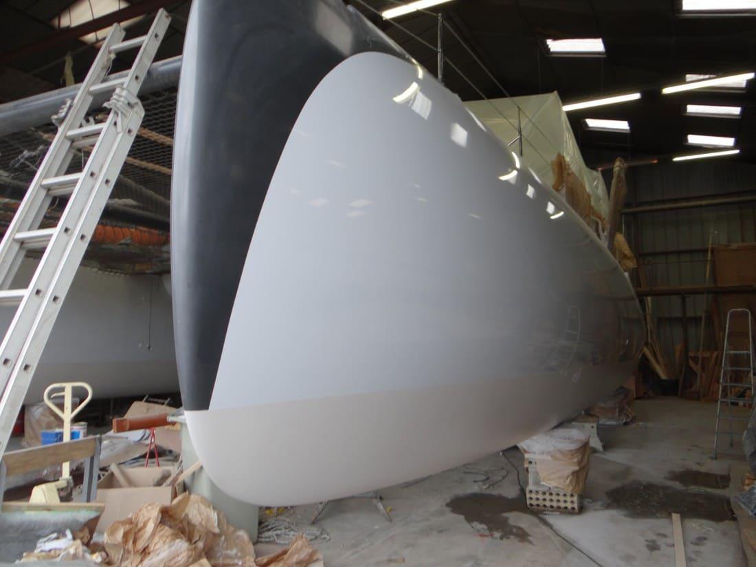 Peinture Coque chantier naval lorient