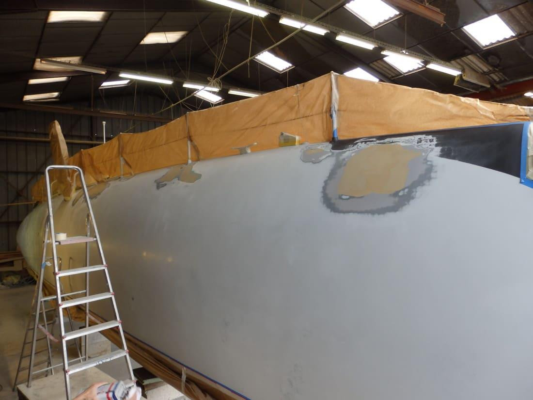 Peinture chantier naval lorient