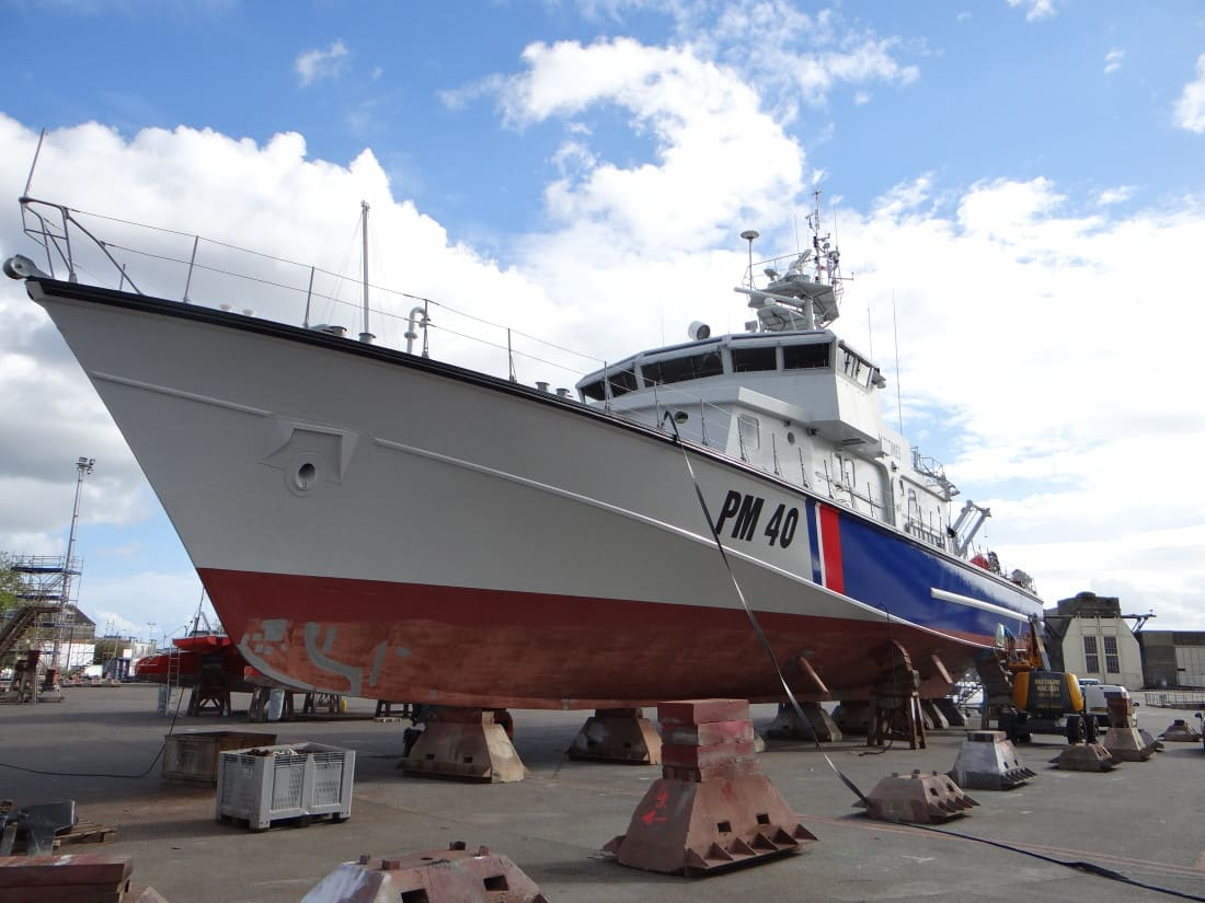 Chantier SailWood Patrouilleur Iris
