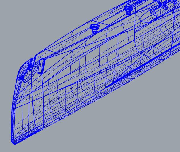 Modelage Catamaran de Plage