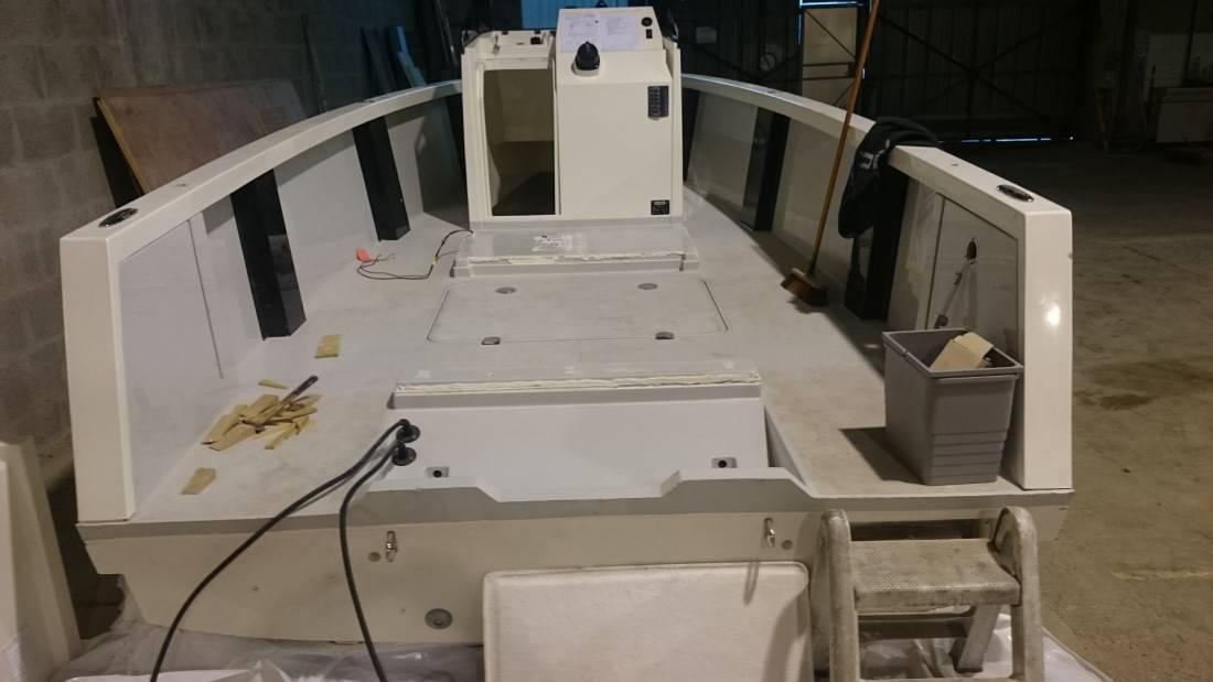 Refit Smartboat pont teck synthétique