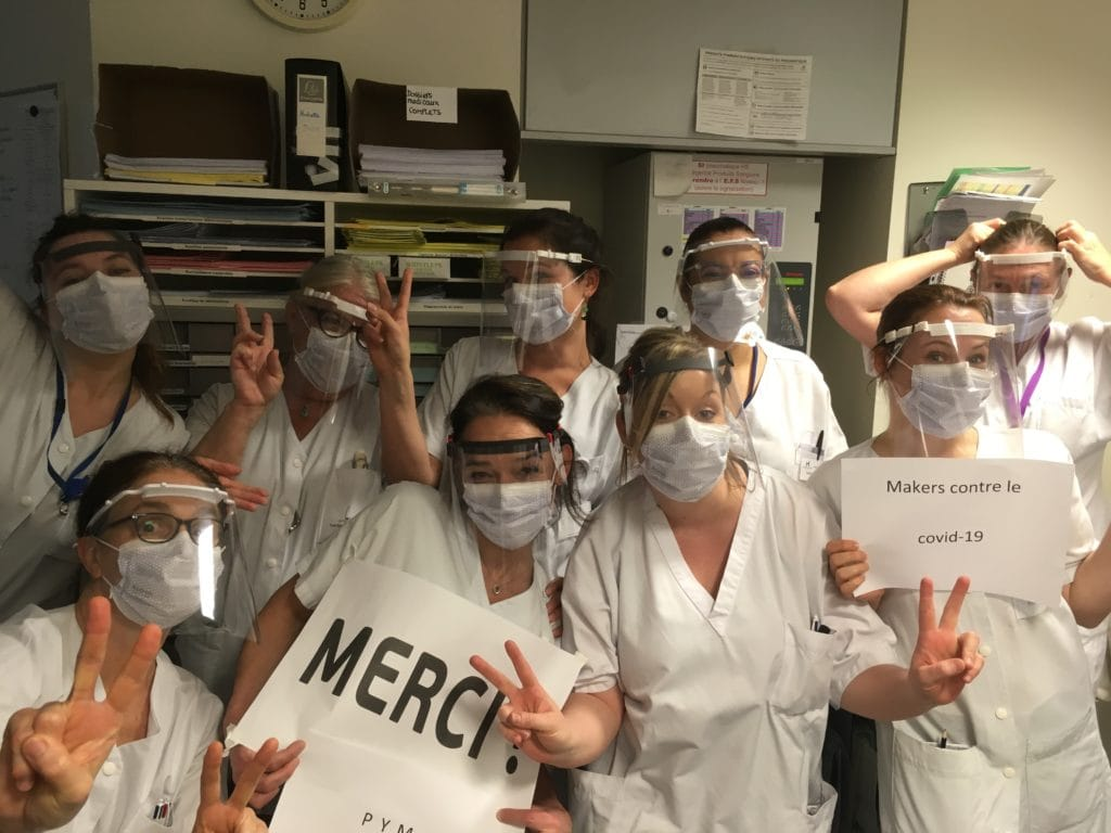Visières infirmières