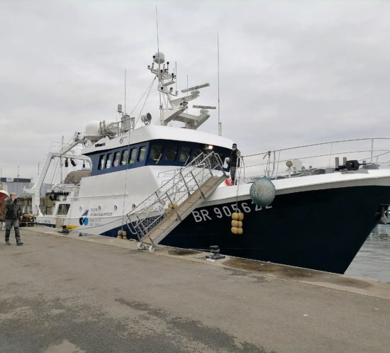 navire Cote de la Manche
